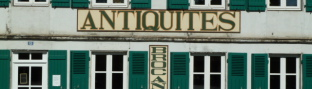ANTIQUITES - BROCANTE - MEUBLES PEINTS